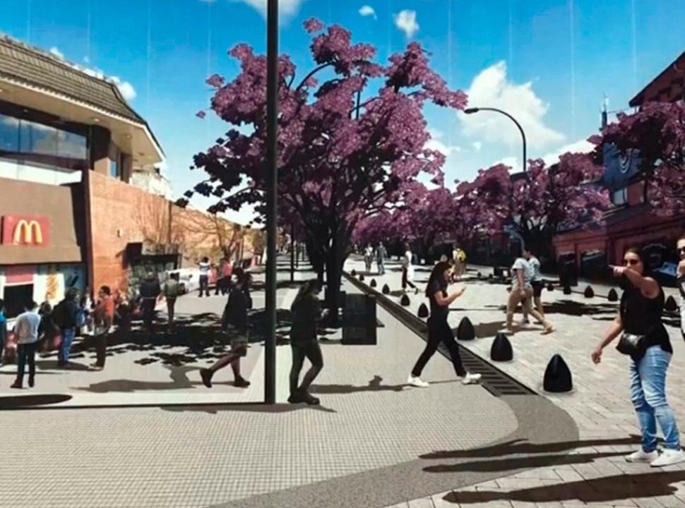 Nueva Megaobra en Laferrere: Avenida Luro será peatonal.