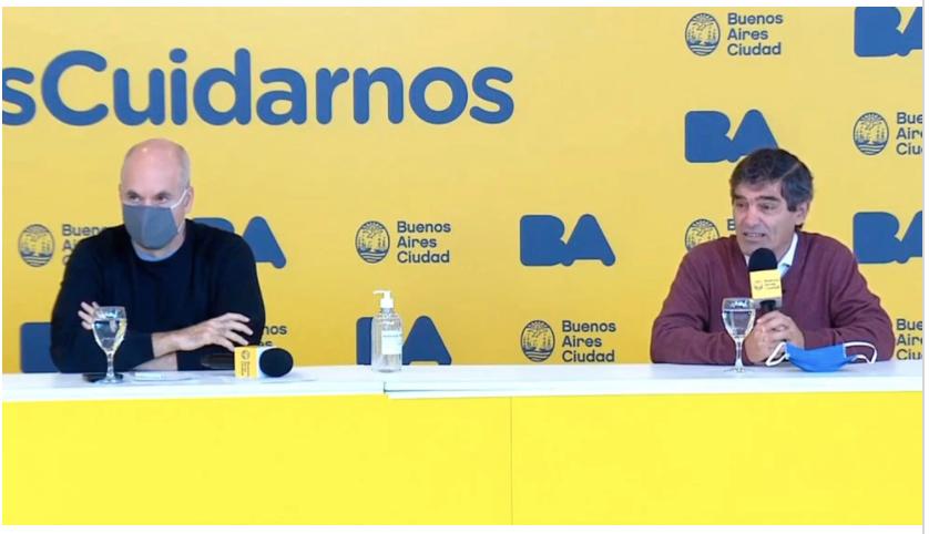 En la Ciudad de Buenos Aires el barbijo continuará siendo obligatorio.